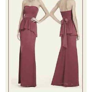 BCBG Maxazria Ruella Gown - Merlot